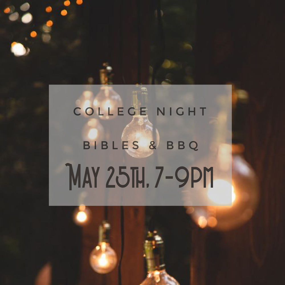 College Ministry Night